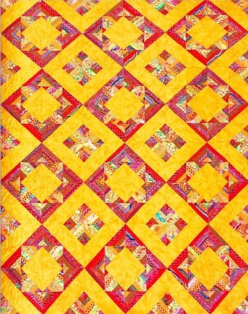 Diamond-Squared-Pattern