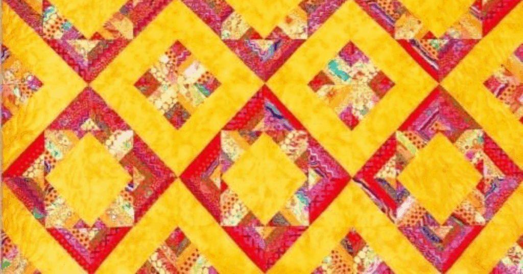 I love Quilting Feature Image_Diamonds Squared Pattern