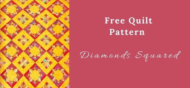 I love Quilting Forever_Diamonds Squared