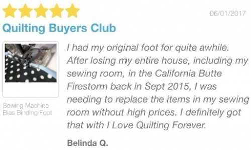 Quilting Buyers Club review
