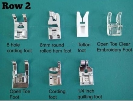 Row 2 in kit uses and guide