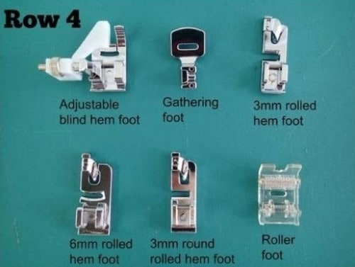 Row 4 in kit uses and guide