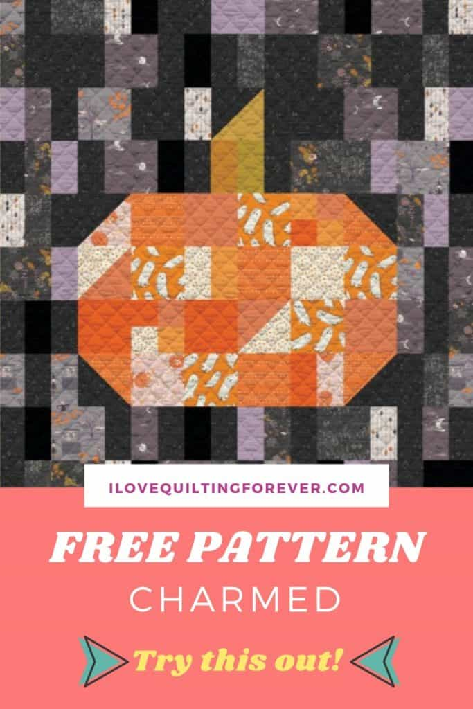 FREE Quilt Pattern Charmed - pinterest