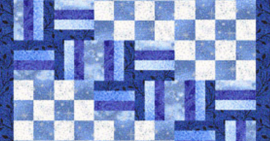I love Quilting Feature Image_Absolute Beginners Blue Winter