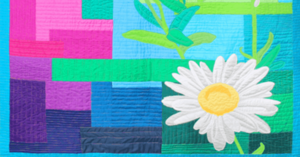 I love Quilting Feature Image_Daisy Day Dream Rainbow Pattern Cover Photo