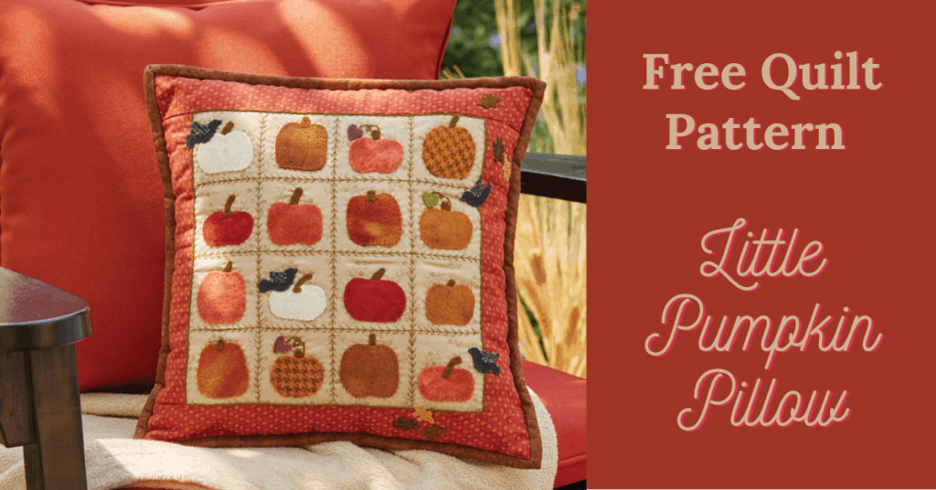 I love Quilting Feature Image_Little Pumpkin Pillow