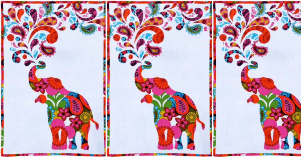 I love Quilting Feature Image_Paisley Splash Elephant Quilt