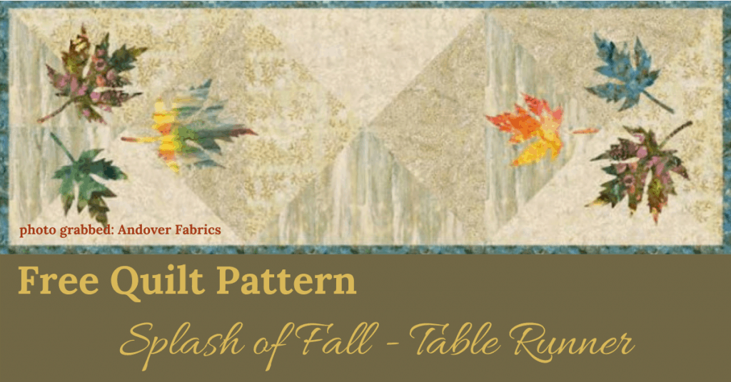 I love Quilting Feature Image_Splash of Fall Runner