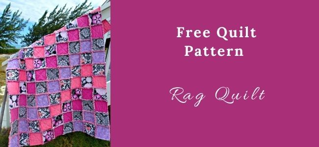 I love Quilting Forever _Rag Quilt