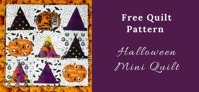 I love Quilting Forever_Halloween Mini Quilt