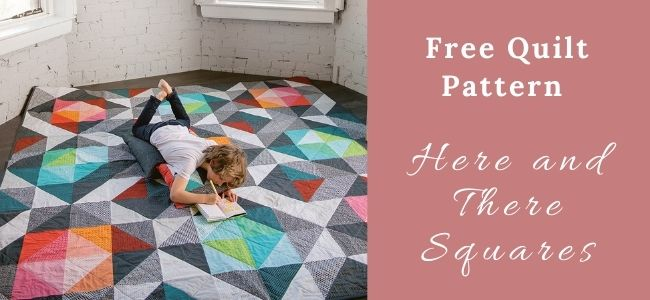 I love Quilting Forever_Here and There Squares Quilt