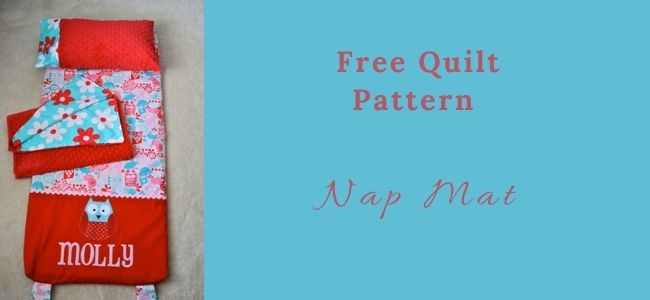 I love Quilting Forever_Nap Mat Quilt
