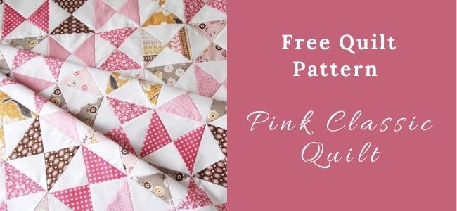 I love Quilting Forever_Pink Classic Quilt