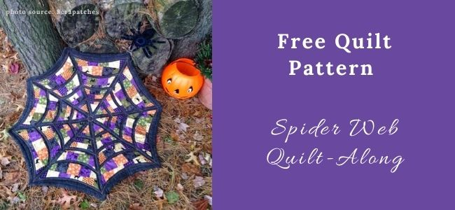 I love Quilting Forever_Spider Web Quilt-Along