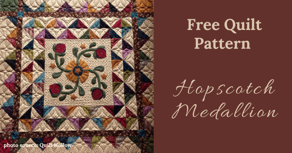 I love Quilting Feature Image_Hopscotch Medallion Quilt