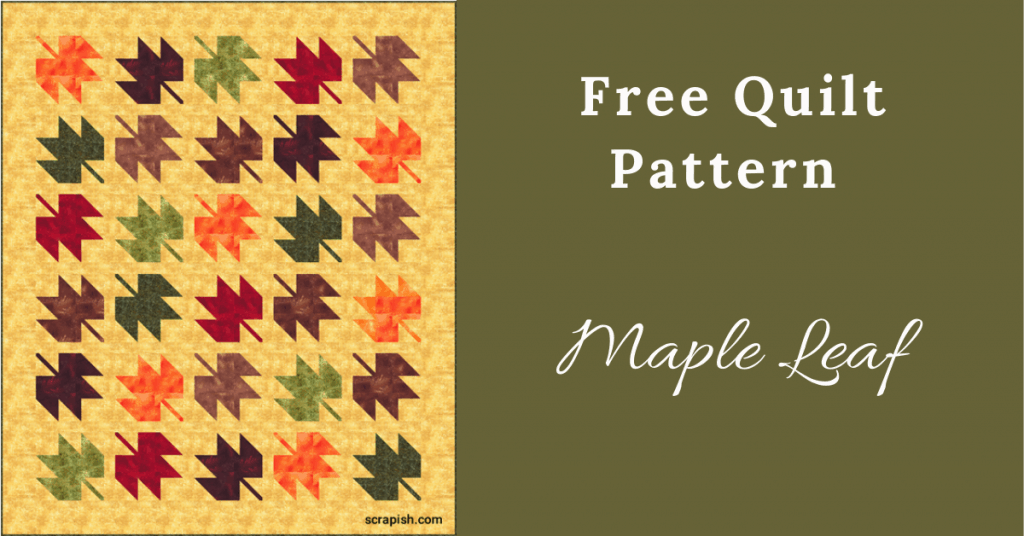 I love Quilting Feature Image_Maple Leaf