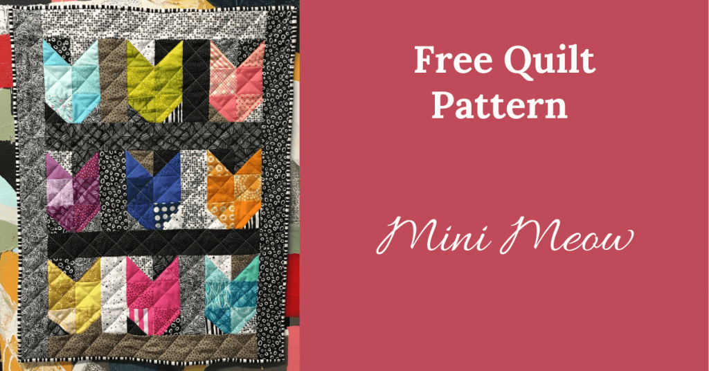 I love Quilting Feature Image_Mini Meow Quilt Pattern