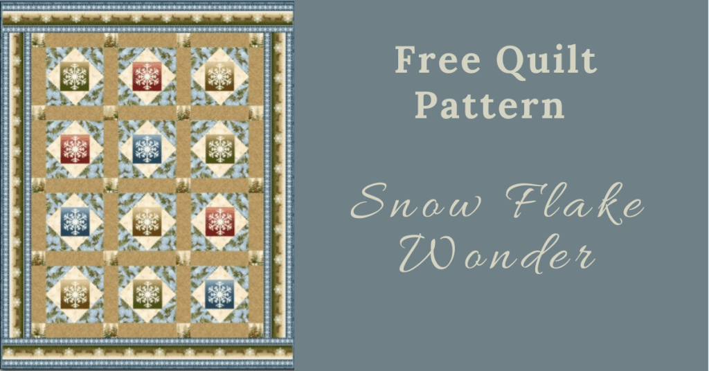 I love Quilting Feature Image_Snow Flake Wonder