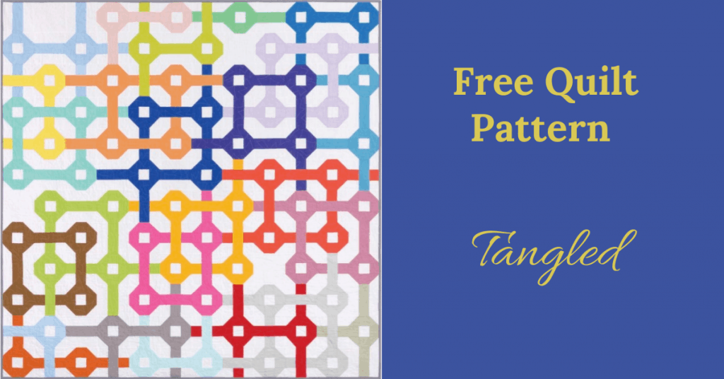 I love Quilting Feature Image_Tangled Quilt Pattern