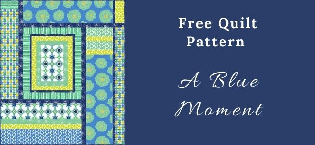 I love Quilting Forever A Blue Moment Quilt