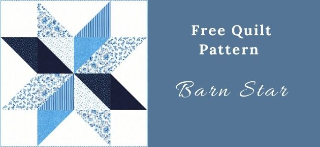 I love Quilting Forever Barn Star Quilt