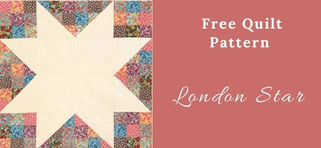 I love Quilting Forever London Star Quilt
