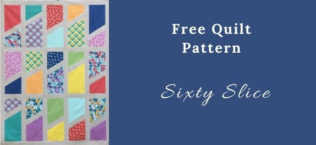 I love Quilting Forever Sixty Slice quilt