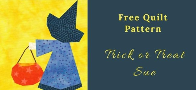 I love Quilting Forever Trick or Treat Sue quilt
