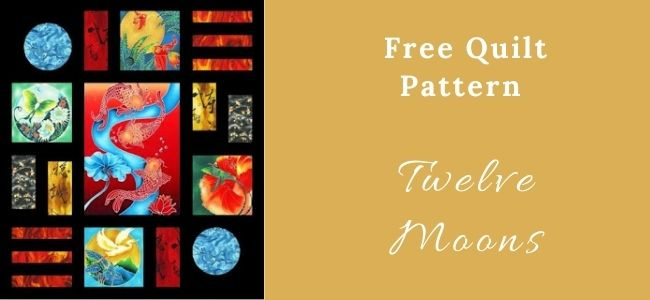 I love Quilting Forever Twelve Moons Quilt