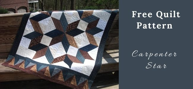 I love Quilting Forever_Carpenter Star Quilt