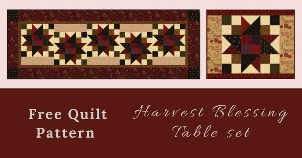 I love Quilting Feature Image_Harvest Blessing Quilt Table set