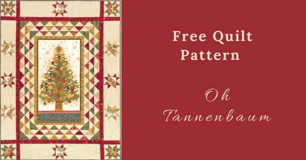 I love Quilting Feature Image_Oh Tannenbaum