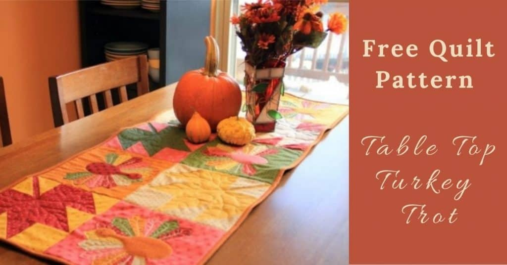 I love Quilting Feature Image_Table Top Turkey Trot