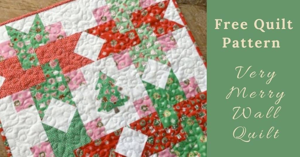 I love Quilting Feature Image_Very Merry Wall Quilt