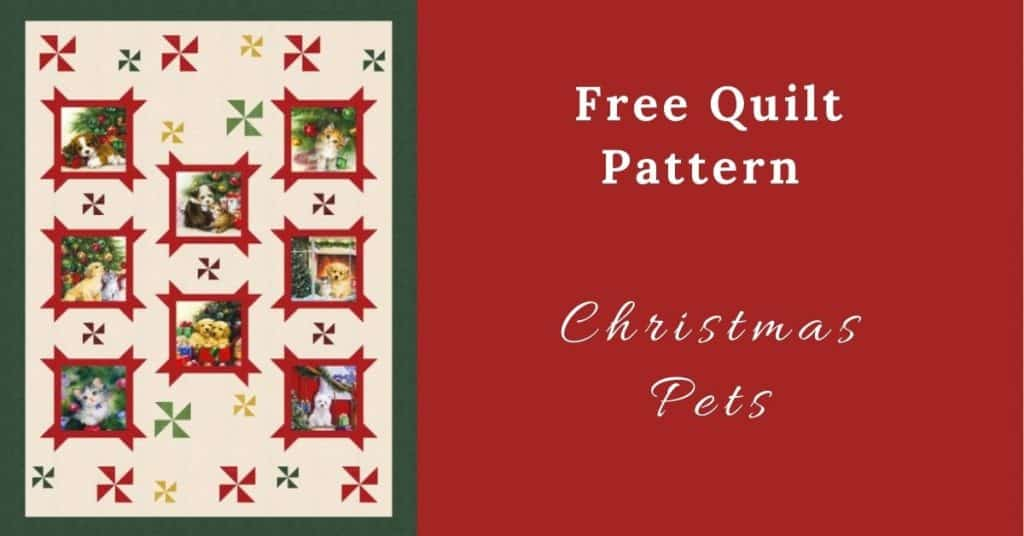 I love Quilting Feature Image_Christmas Pets Quilt