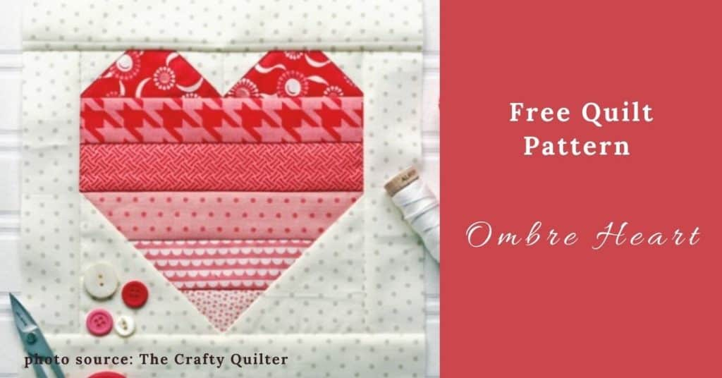 I love Quilting Feature Image_Ombre Heart Quilt