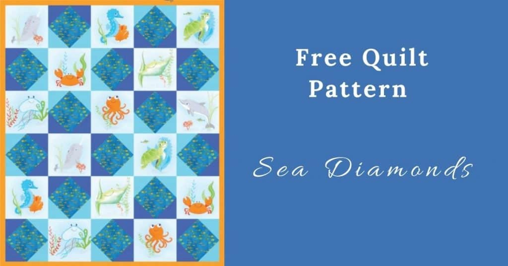 I love Quilting Feature Image_Sea Diamonds Quilt