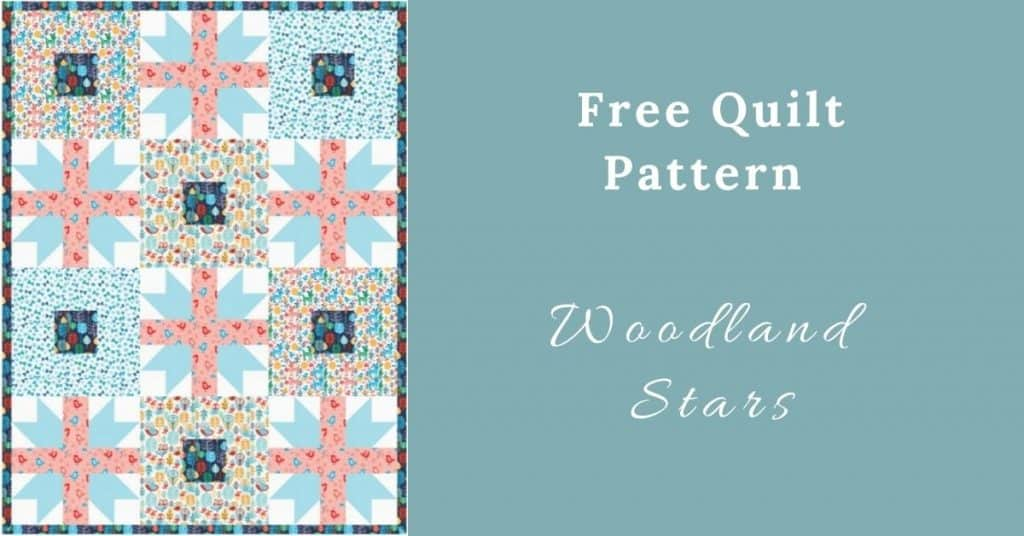 I love Quilting Feature Image_Woodland Stars Quilt