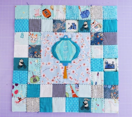 Lantern-pillowcase-quilt-block