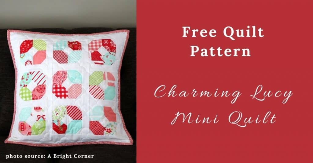 I love Quilting Feature Image_Charming Lucy Mini Quilt