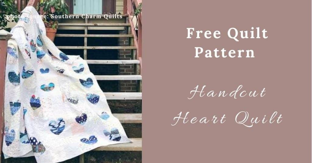 I love Quilting Feature Image_Handcut Heart Quilt