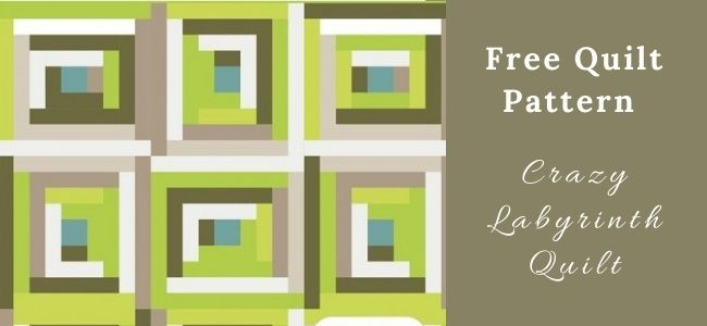 I love Quilting Forever_Crazy Labyrinth Quilt