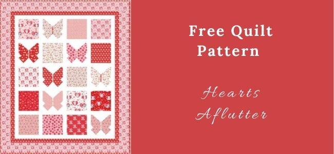 I love Quilting Forever_Hearts Aflutter Quilt