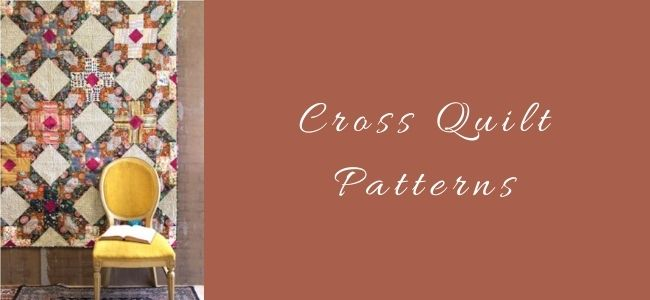 I love Quilting Feature Cross Quilt Patterns