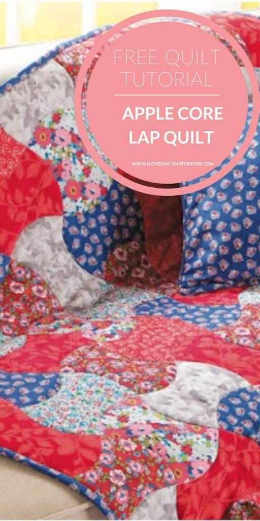FREE QUILT PATTERN Apple Core Lap Quilt - pinterest