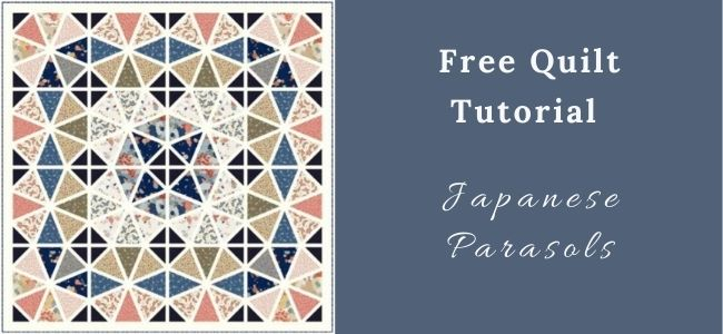 I love Quilting Forever Japanese Parasols Quilt