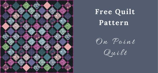 I love Quilting Forever On Point Quilt