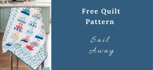 I love Quilting Forever Sail Away Quilt