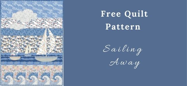 I love Quilting Forever Sailing Away Quilt