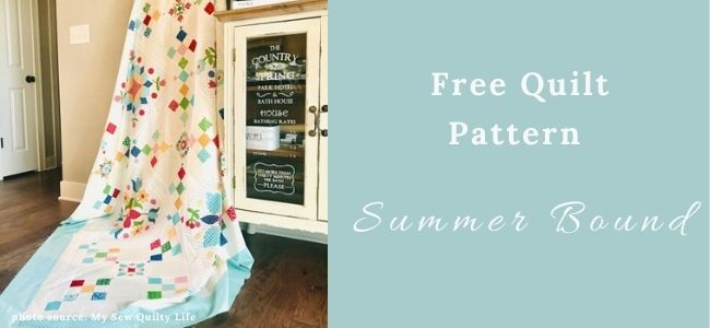 I love Quilting Forever _Summer Bound Quilt